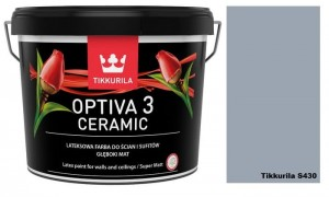 TIKKURILA Optiva Ceramic Matt 3 2,7l KOLOR: S430