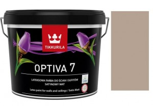 TIKKURILA Optiva Satin Matt 7 9l  KOLOR J483