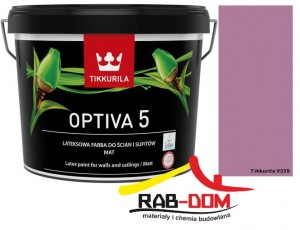 TIKKURILA Optiva Matt 5 0,9l  Kolor: V339