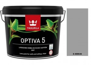 TIKKURILA Optiva Matt 5 9l KOLOR S 4000-N