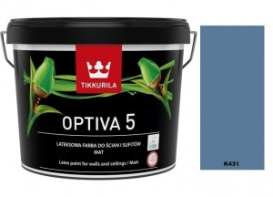 TIKKURILA Optiva Matt 5 0,9l  K431
