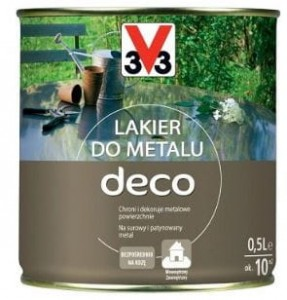 3V3 Lakier do metalu DECO 0,5L MAT V33