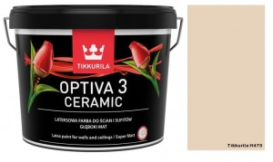 TIKKURILA Optiva Ceramic Matt 3 2,7l KOLOR: H470