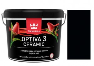 TIKKURILA Optiva Ceramic Matt 3 0,9l  RAL 9005