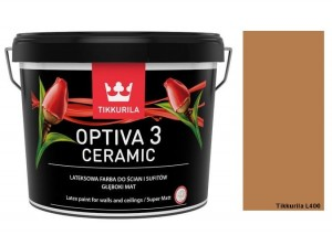 TIKKURILA Optiva Ceramic Matt 3 0,9l KOLOR L400