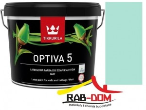 TIKKURILA Optiva Matt 5 9l KOLOR X371