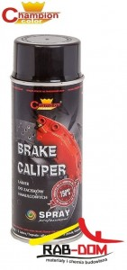 CHAMPION Brake 400ml Spray do zacisków CZARNY RAL 9005