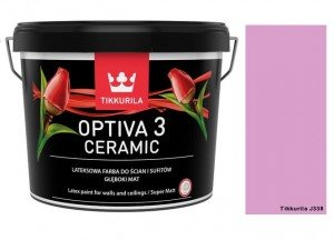 TIKKURILA Optiva Ceramic Matt 3 0,9l KOLOR: J338