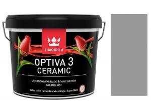 TIKKURILA Optiva Ceramic Matt 3 0,9l KOLOR: S 4000-N