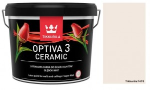 TIKKURILA Optiva Ceramic Matt 3 9l KOLOR: F470