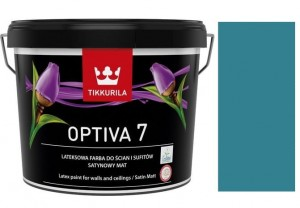 TIKKURILA Optiva Satin Matt 7 0,9l  KOLOR S366