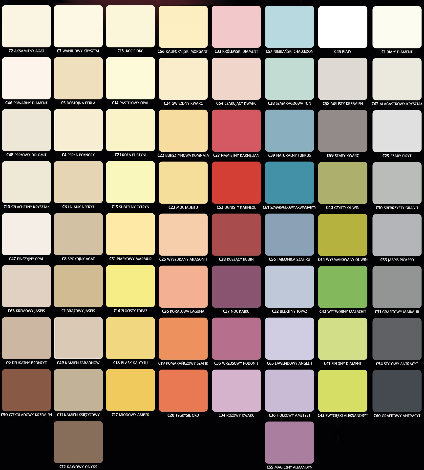 Magnat Ceramic 5l Farba Ceramiczna Kolory Wałek